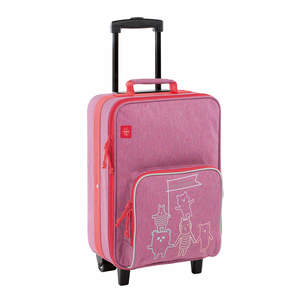 Kinderkoffer - Trolley, About Friends Mélange Pink - Lässig