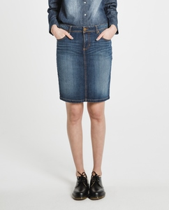Jeansrock Svea Pencil-Skirt - Feuervogl