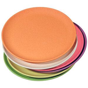 6er-Set Dessertteller Bunt - Zuperzozial