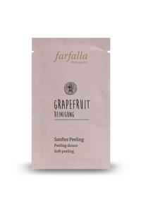 Sanfte Reinigung mit dem Grapefruit Peeling  - Farfalla