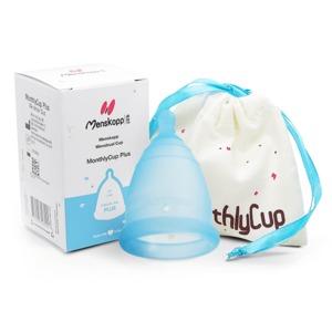Menstruationskappe (blau) - MonthlyCup (erdbeerwoche)