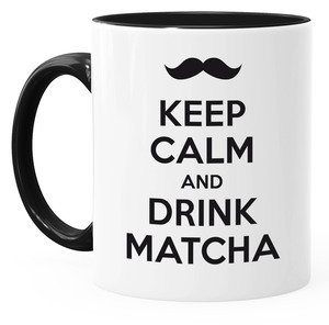Tasse Keep calm and drink Matcha - Gary Mash