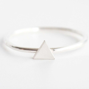 Triangle Midi Ring - Wild Fawn Jewellery