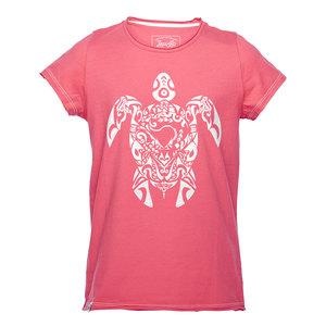 Tribal Turtle Mädchen T-Shirt pink - Lexi&Bö