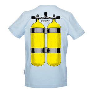 Got Air? Jungen T-Shirt blau - Lexi&Bö