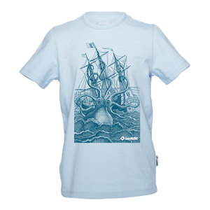 The Rage Of The Kraken Jungen T-Shirt blau - Lexi&Bö