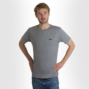 Hanseat T-Shirt Grau (fair & bio) - Hanseat