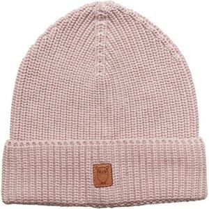 Ribbing hat - Pale Mauve - KnowledgeCotton Apparel