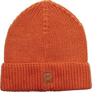 Mütze -Ribbing hat - Harvest Pumpkin - KnowledgeCotton Apparel