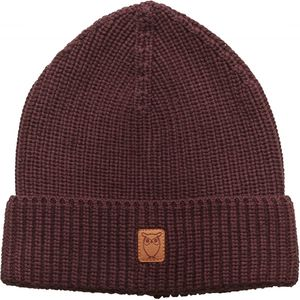 Mütze -Ribbing hat - Decadent Chokolade - KnowledgeCotton Apparel