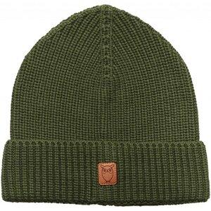 Ribbing hat - Black Forrest - KnowledgeCotton Apparel