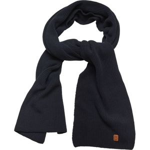 Ribbing scarf - Total Eclipse - KnowledgeCotton Apparel