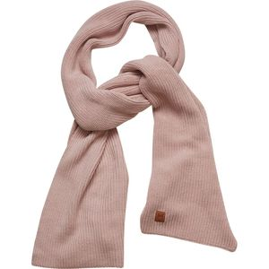 Ribbing scarf - Pale Mauve - KnowledgeCotton Apparel