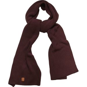 Ribbing scarf - Decadent Chokolade - KnowledgeCotton Apparel