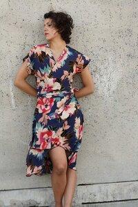 Florales Kleid, Wickelkleid Flora - ManduTrap