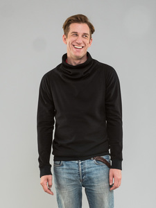 Pullover Schwarz/Rot Doubleface - Kollateralschaden