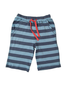 Stripy Creature Shorties blau - Frugi