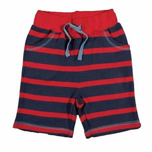 Stripy Creature Shorties rot - Frugi