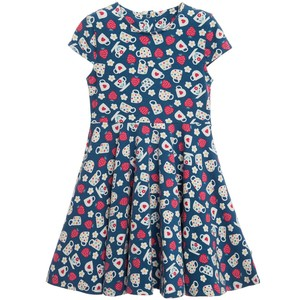 Spring Skater Dress Cornish Cream Tea - Frugi