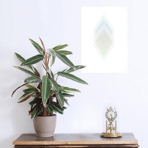 Poster Diamant mint - noull