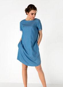 Kleid aus Tencel® Denim mit seitlichen Eingrifftaschen - ORGANICATION