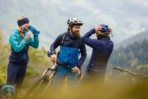 Fahrrad Regenjacke SMUDD Men - triple2
