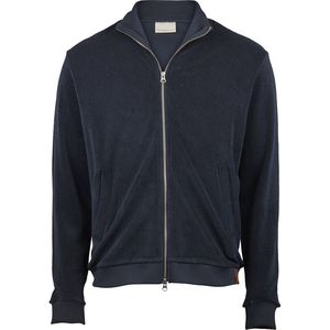 Sweatjacke - Zip trainer - Frottee - Total Eclipse - KnowledgeCotton Apparel