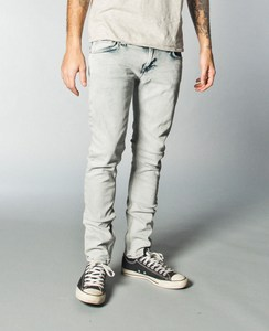 High Kai org. black bleach - Nudie Jeans