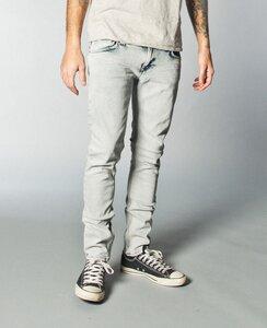 High Kai org. black bleach - Nudie Jeans
