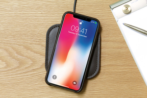 Fast Wireless Charger für iPhone X/8 und Samsung Galaxy S9 Qi-fähige - Pack & Smooch