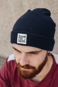 ilovemixtapes Beanie Biobaumwolle / Made in EU dark navy - ilovemixtapes