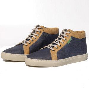 Fairticken Nico Sneaker (blau, Kork) - Fairticken