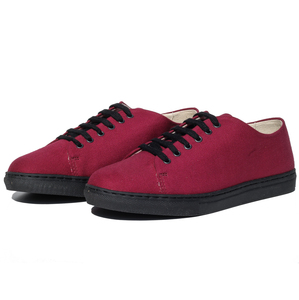 Salir Sneaker (bourdeaux, Canvas) - Fairticken