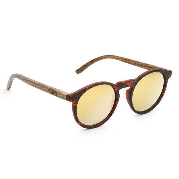 Sonnenbrille Lormoral Walnussholz