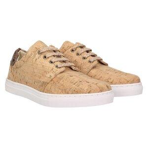 echt  401 Damen Korkschuhe vegane Sneaker Kupfer - ZWEIGUT® a6db165a9c