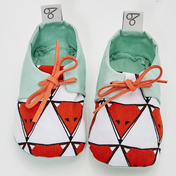 """Baby-schuhe """"Foxy Faces"""""""