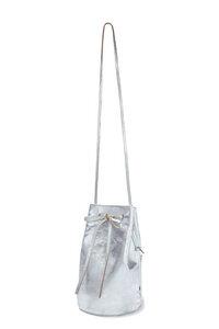 Bucket Bag EBBA von ElektroPulli - Silber - ELEKTROPULLI