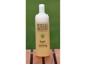 Hair Styling Mousse natürlicher Schaumfestiger von SZEILI Naturkosmetik - SZEILI Naturkosmetik