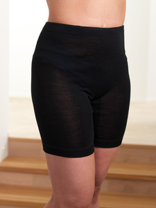 Merinowolle-Seide Shortcut Pants Unterhose (Unisex Model) - Tam-Silk