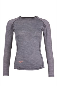 Merino LANG Shirt Women - triple2