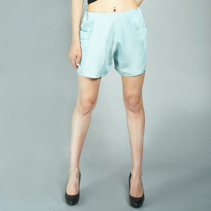 LASALINA - Jeans SHORTS aus Biobaumwolle - LASALINA