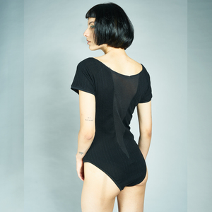 ALIA BODY mit transparentem V-Rückenauschnitt - LASALINA