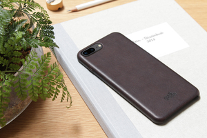 iPhone 8 / 7 PLUS backcover Schutzhülle aus vegetabil gegerbtem Leder - Pack & Smooch