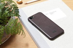 iPhone 7 backcover Schutzhülle aus vegetabil gegerbtem Leder - Pack & Smooch