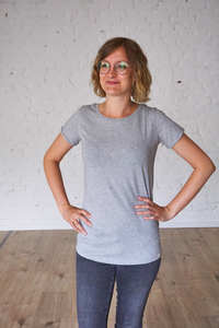Róka - T-Shirt Basic grau - Róka - fair clothing