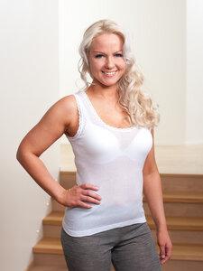 Damen Unterhemd Trägertop - Tam-Silk