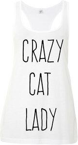 crazy cat lady Tank Top - WarglBlarg!