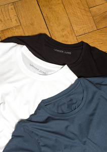 3er Pack - Extralange Basic Shirts slim fit - LANGER JUNG - LANGER JUNG