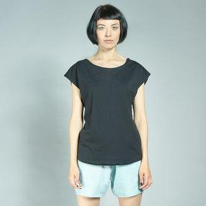 LASALINA - tailliertes Shirt aus Biobaumwolle - LASALINA