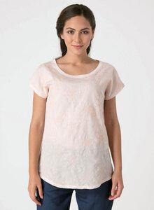 T-shirt aus Tencel® und Bio-Baumwolle mit Stickerei - ORGANICATION